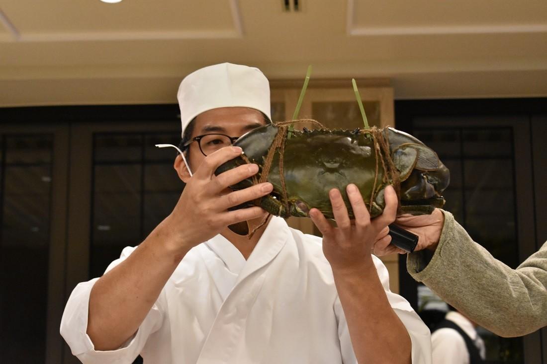 ドウマン蟹
