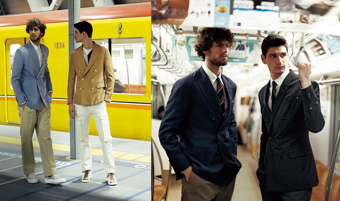 【ファッション】最旬ジャケット、着こなし指南