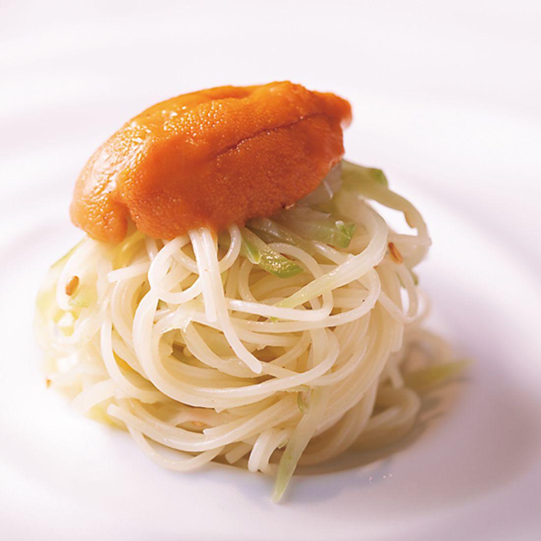 「搾菜のカッペリーニ」。