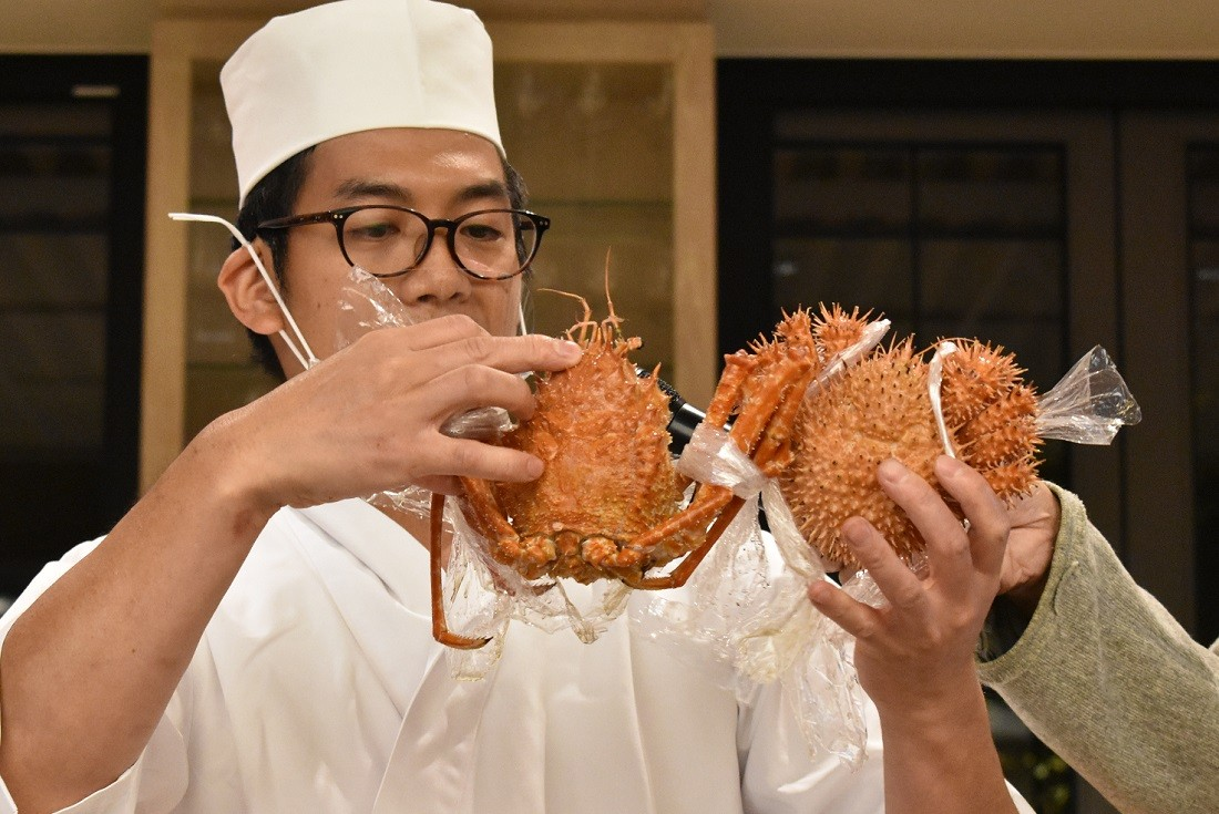 オオホモラ蟹とイガグリ蟹