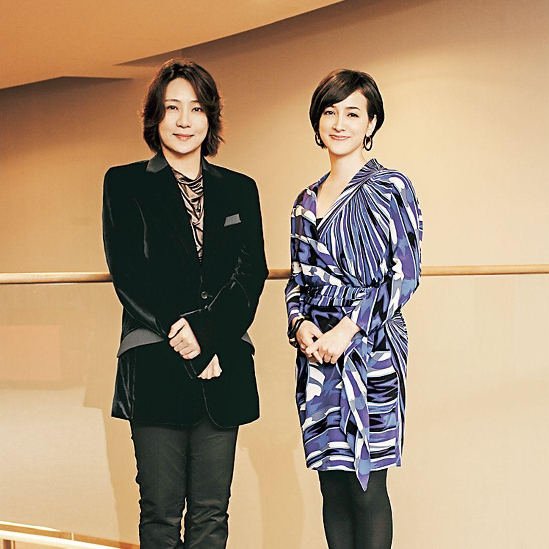 西本智実さんと滝川クリステルさん