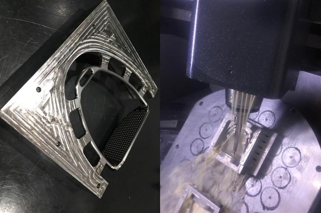 約10kgの鉄の塊から10時間以上かけて削り出す「MUQUモデル(武豊スペシャル)」 世界最軽量を目指す