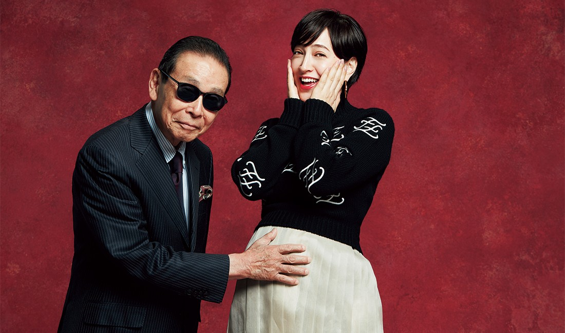 タモリさん×滝川クリステルさん
