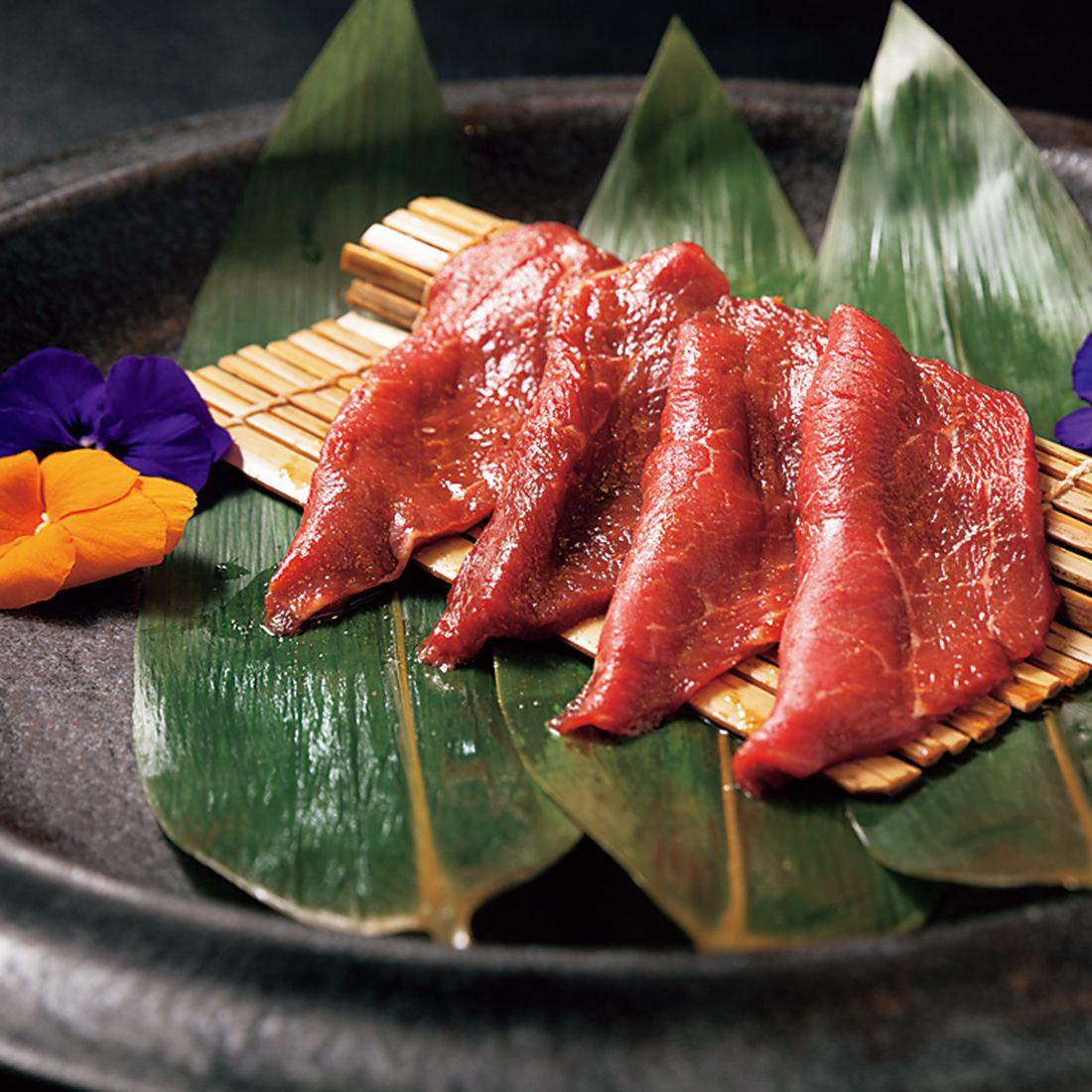 赤身肉の一例。