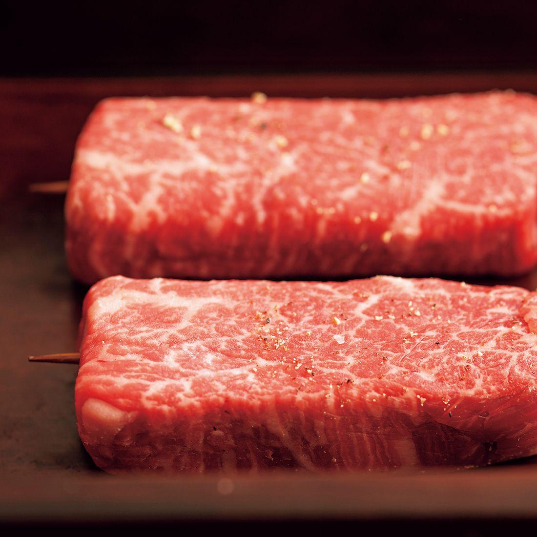 脂の融点が低い山形牛・雌牛を使用。