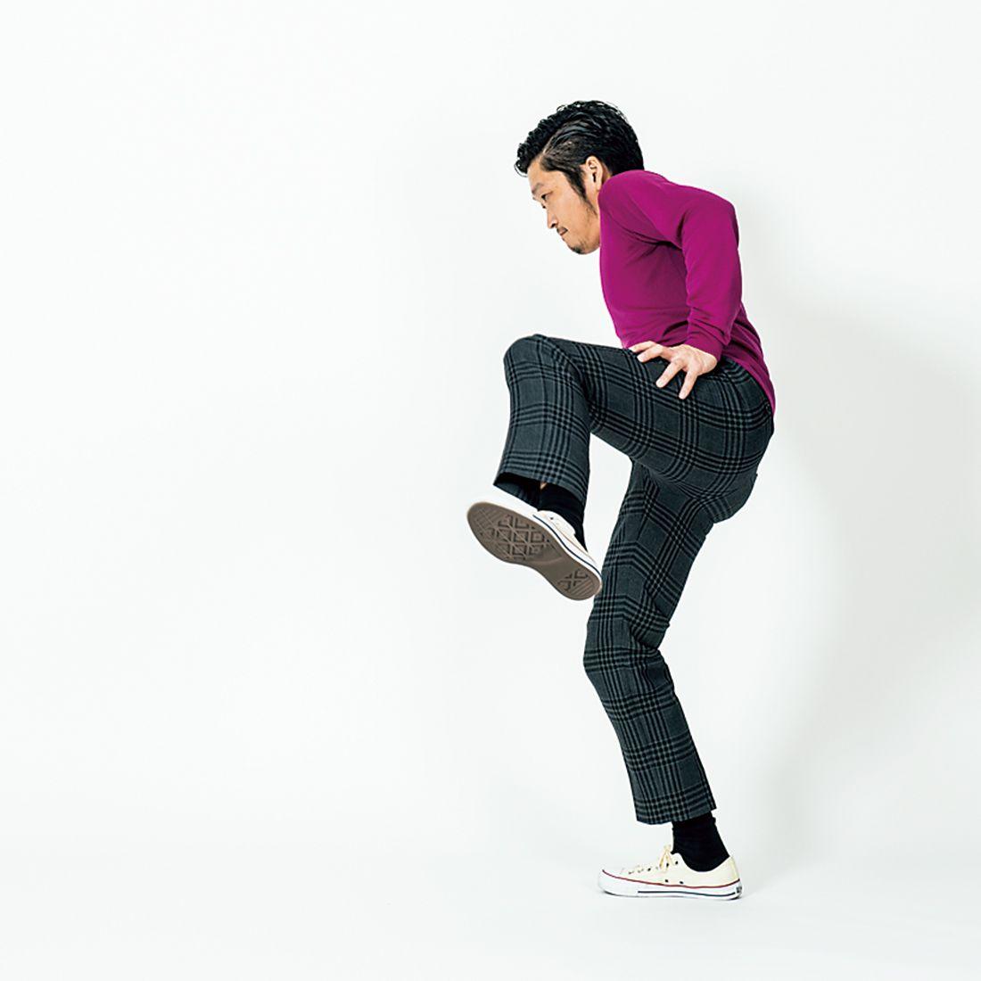 【NG例】前に出しちゃダメ!膝が身体の前に出ないように。