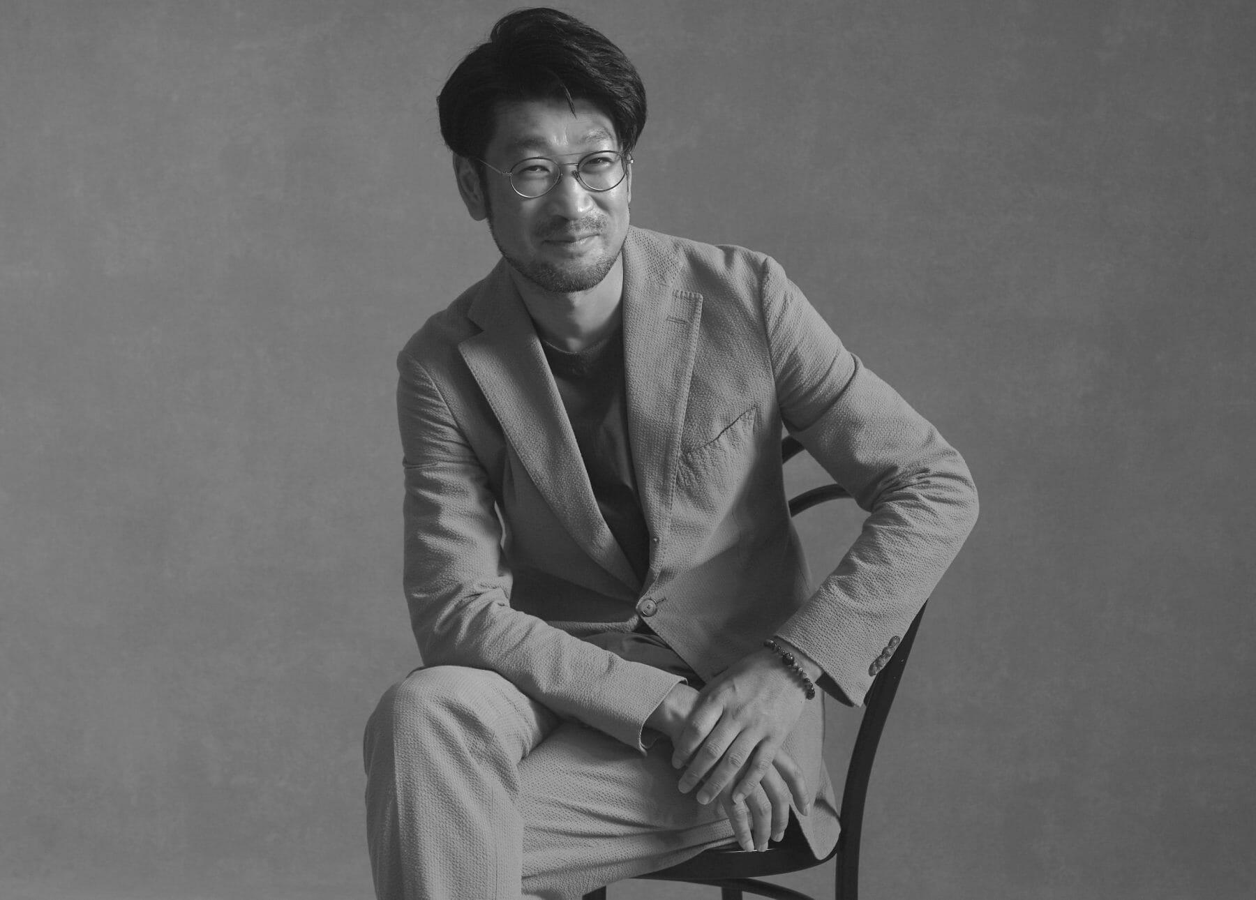 ゲーテ編集長池上雄太ポートレイト