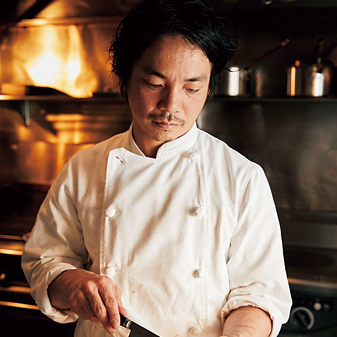 オーナーシェフの掛川哲司氏。