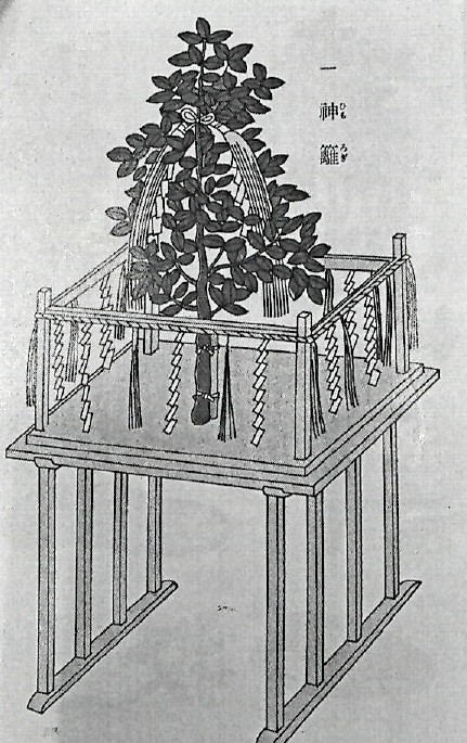 神籬祭祀の祭壇