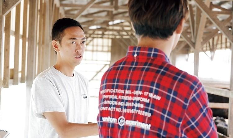 健康で美味しい和牛へのこだわりを語る矢野拓也さん。
