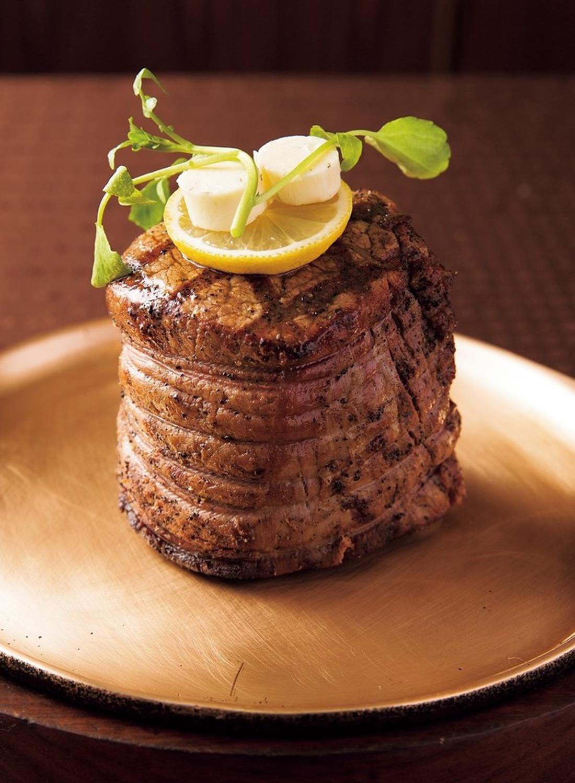 最優秀牛シャトーブリアンステーキ。