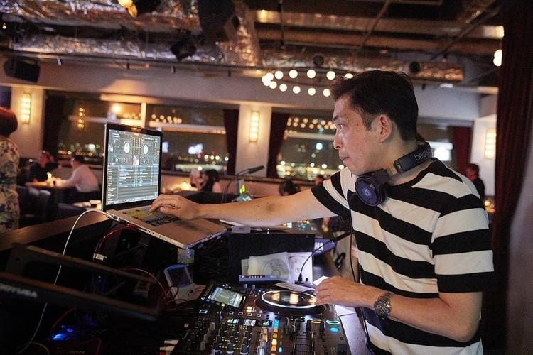 DJ・BOSSさん。