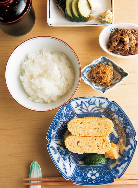 炊き立てご飯にぬか漬け、ちりめん、赤出汁で至福のフィナーレを。