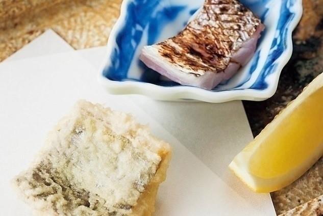 太刀魚の炙りと天ぷら。
