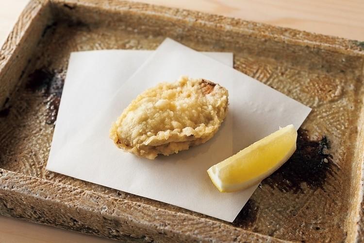 浜名湖産の牡蠣。