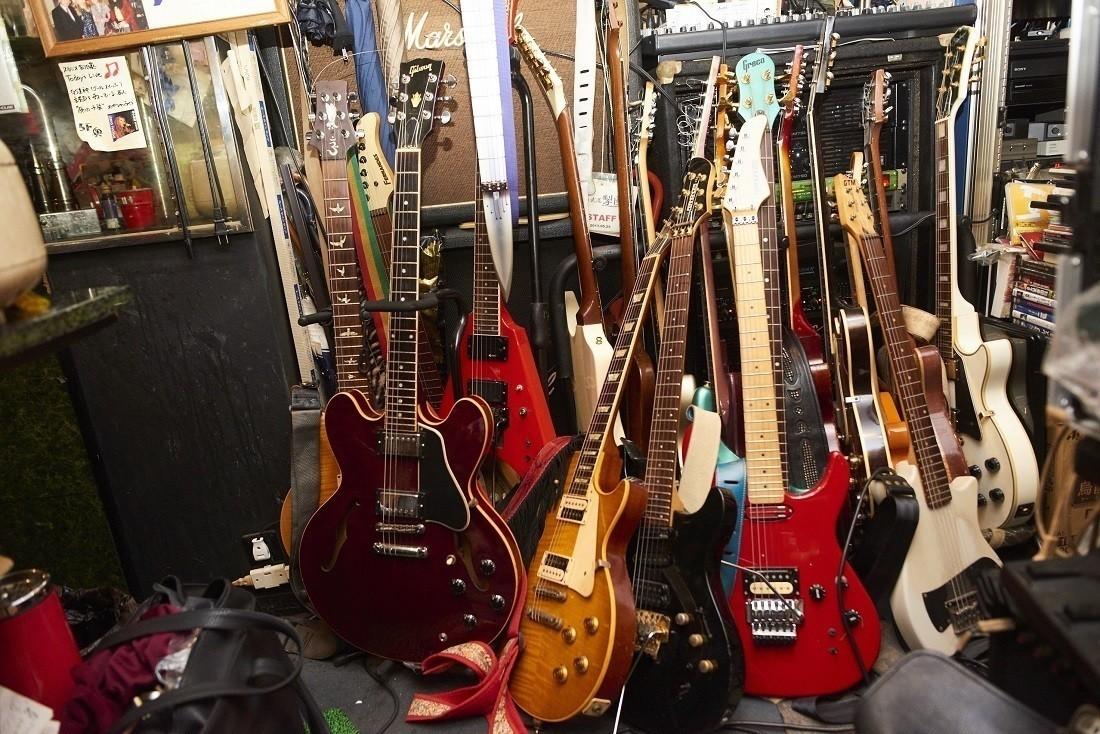 マスター愛用のギター。