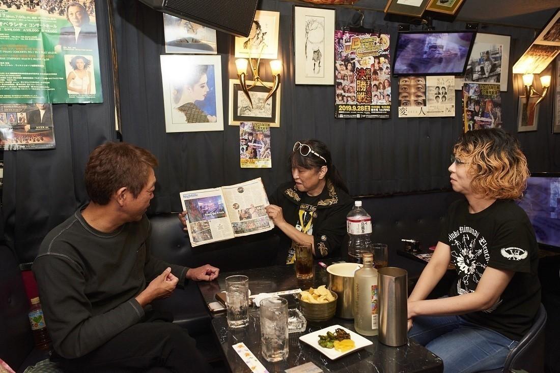 海外の雑誌に取り上げられ、外国人観光客も数多く来店する。