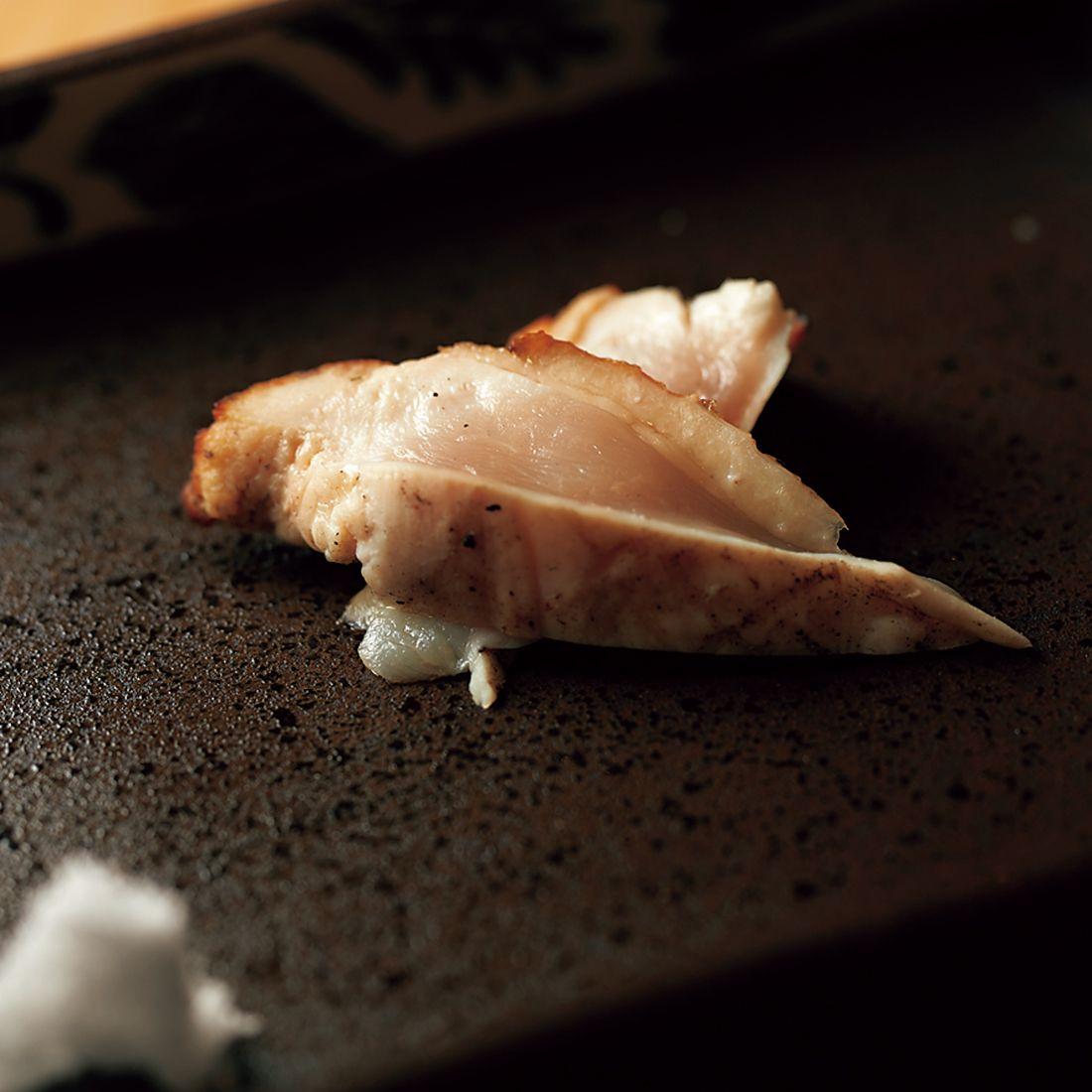胸肉タタキ