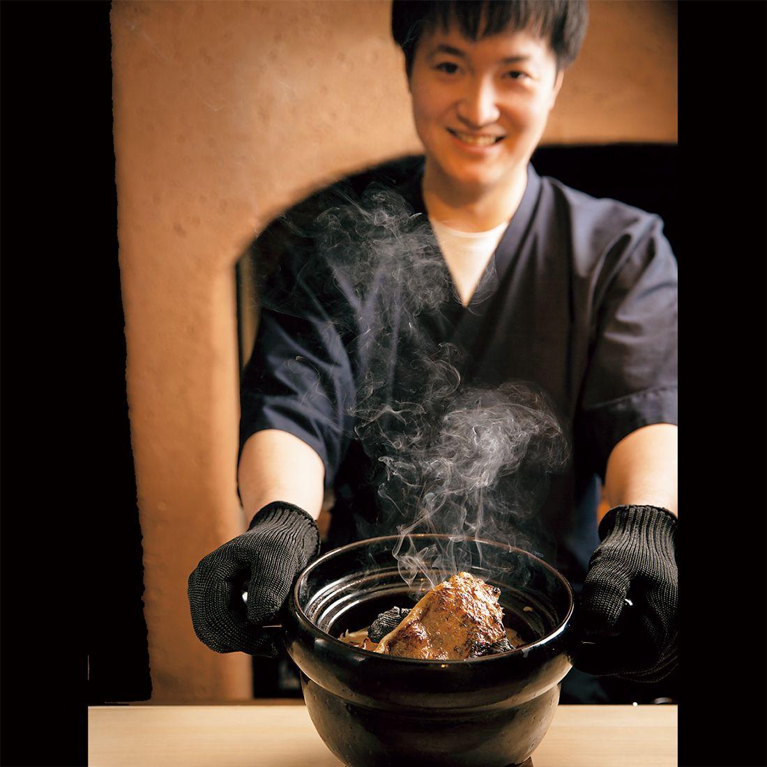 料理長の田代秀人さん。