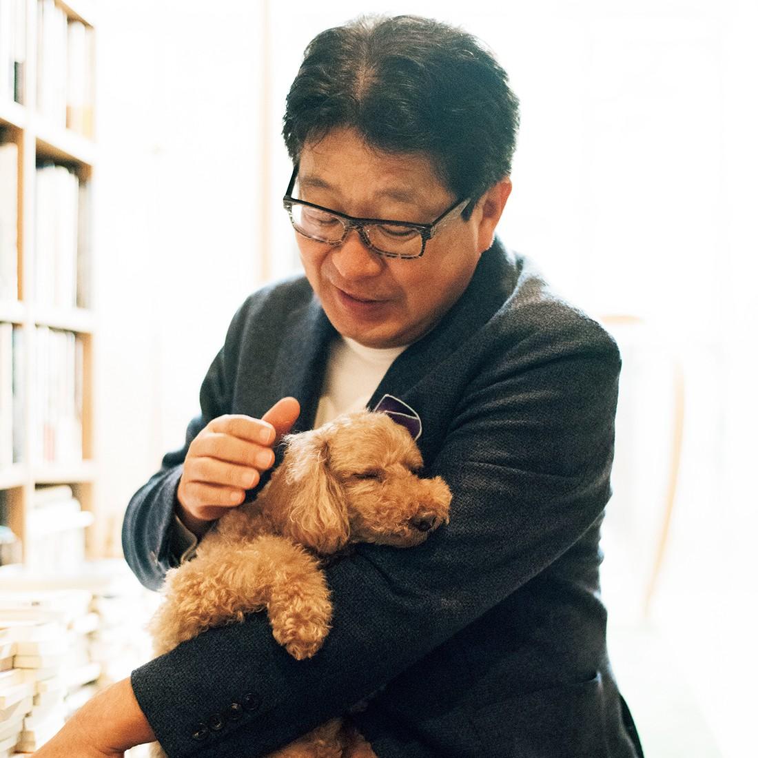 愛犬 ピピン×インスパイア取締役ファウンダー・HONZ代表 成毛 眞