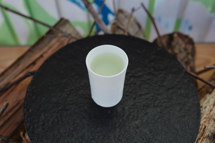 金沢スイカと加賀太きゅうりを使ったガスパチョ。