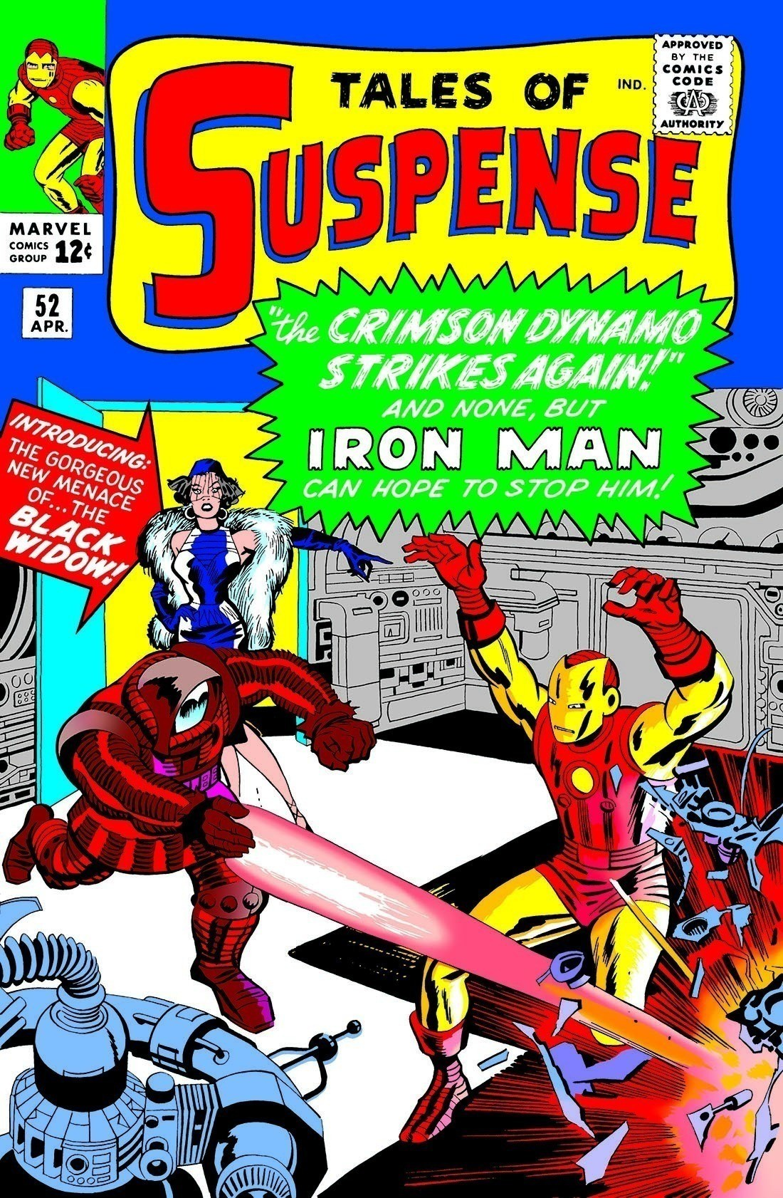 『Tales of Suspense』 #52。