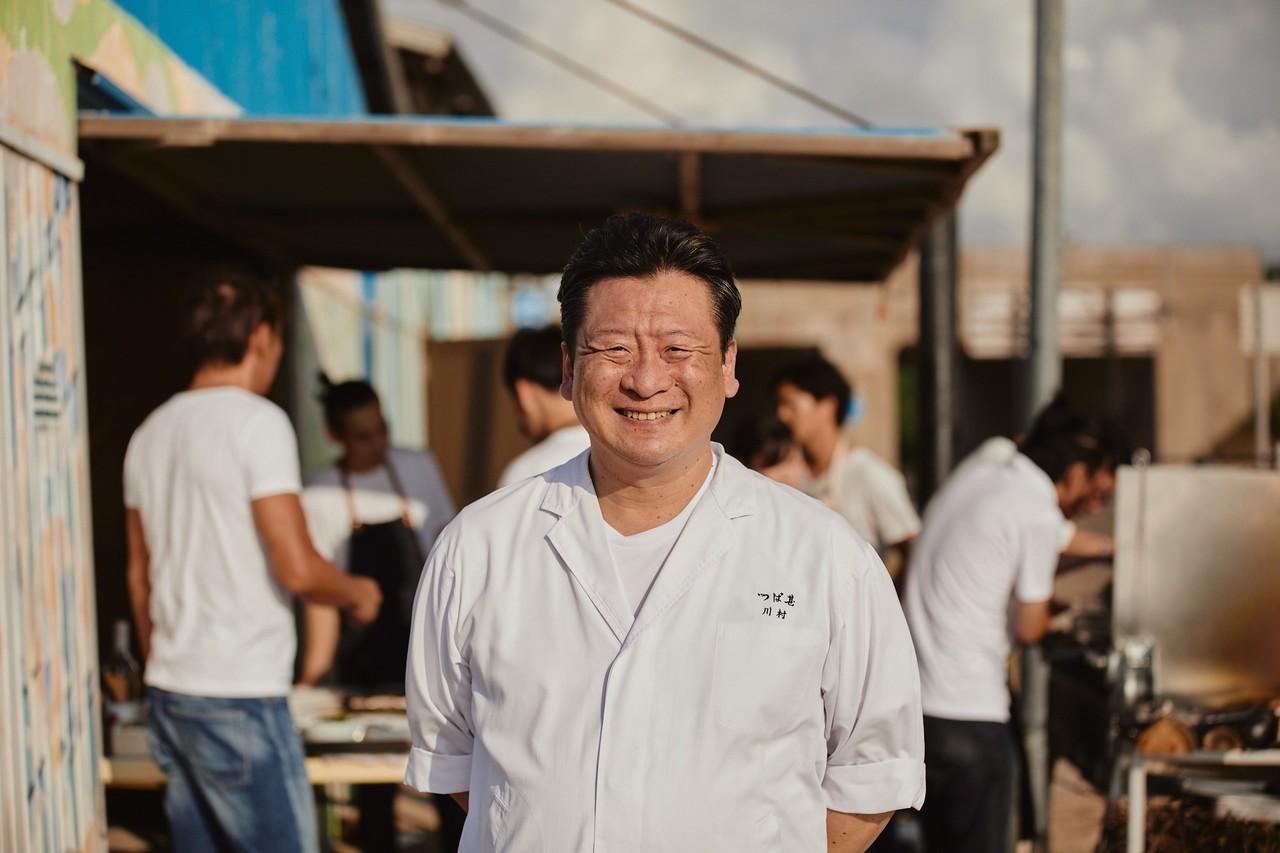 日本料理「つば甚」料理長の川村浩司氏。