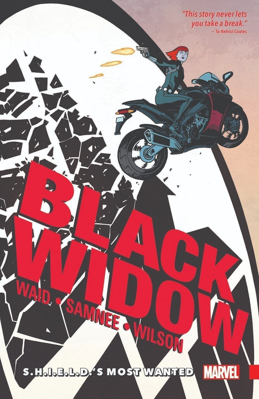 "『Black Widow Vol.1: S.H.I.E.L.D.""s Most Wanted』。"