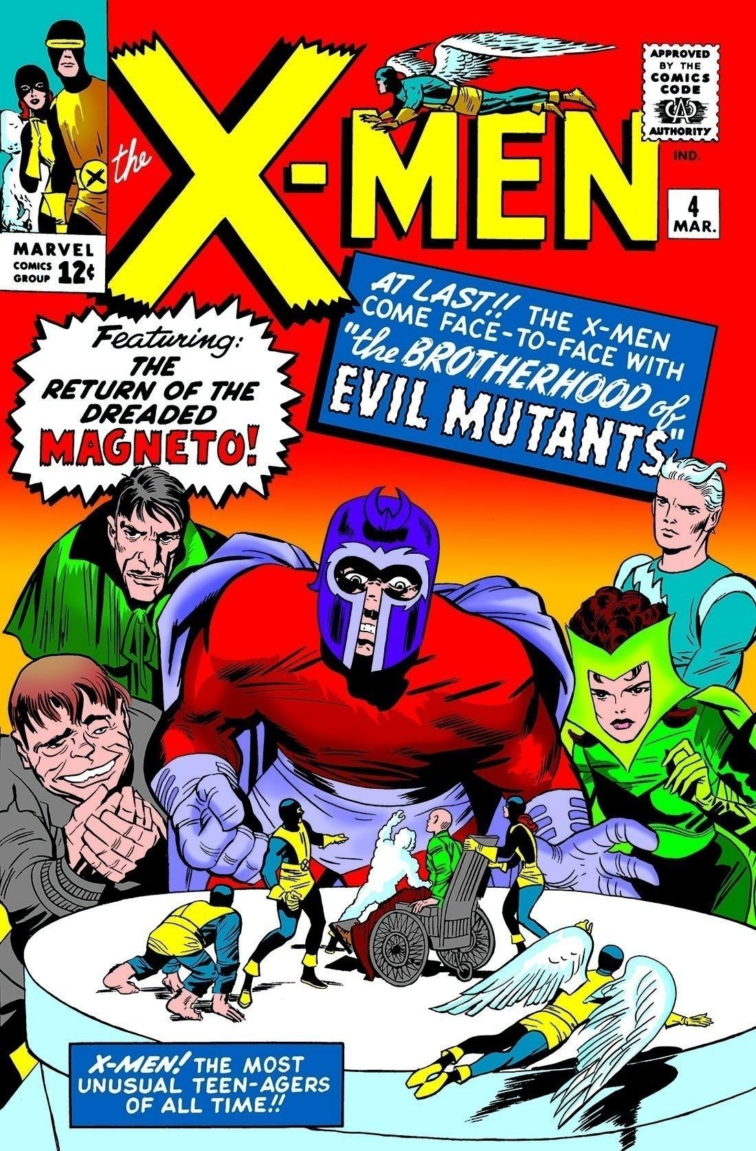 『X-MEN』#4。