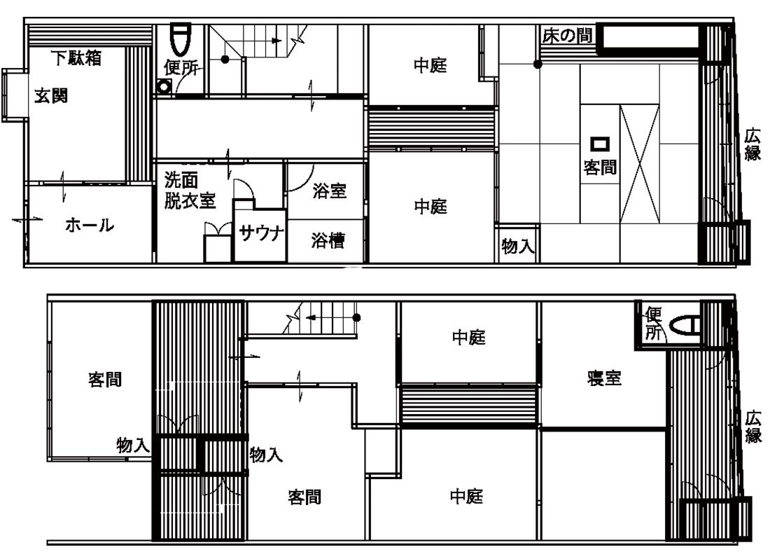 西山知義氏(間取り図)