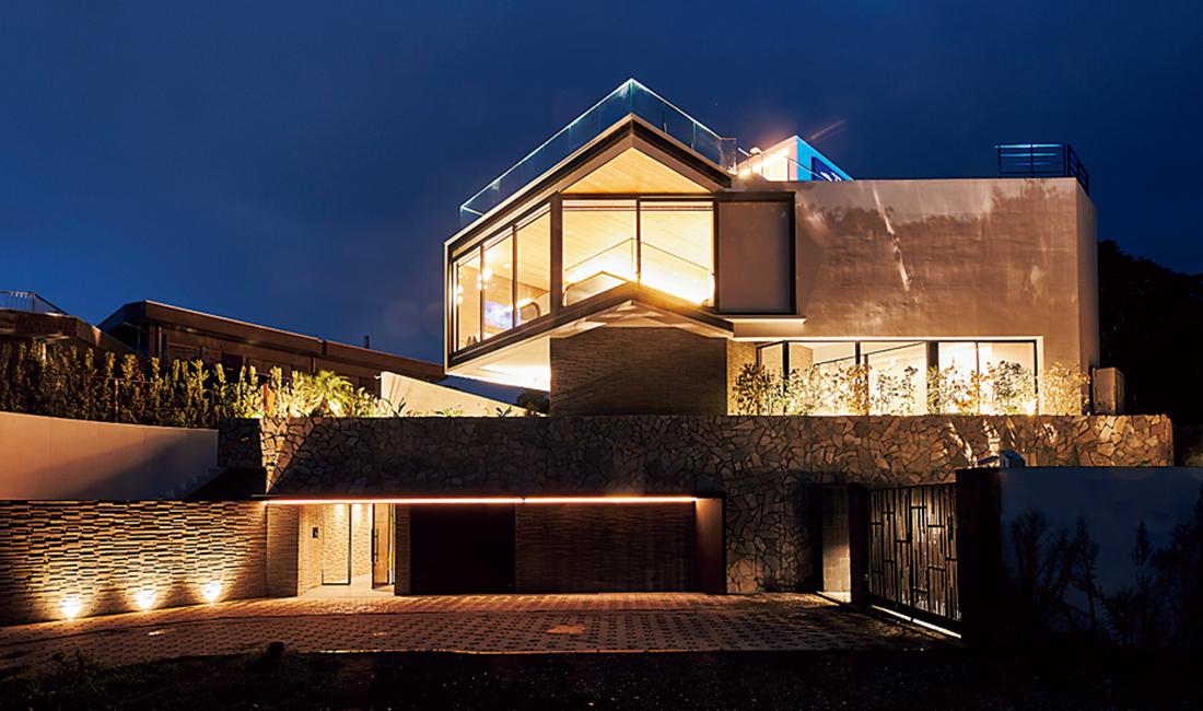 佐島の家の全景