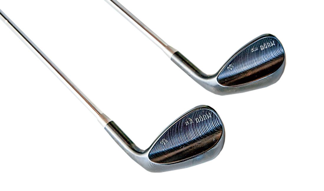 ゴルフクラブ「MUQU」アイアン。