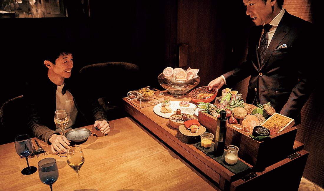 京都祇園・花見小路にある『Ristorante t.v.b( リストランテ ティ ヴォリオ ベーネ』が最近の行きつけの店。