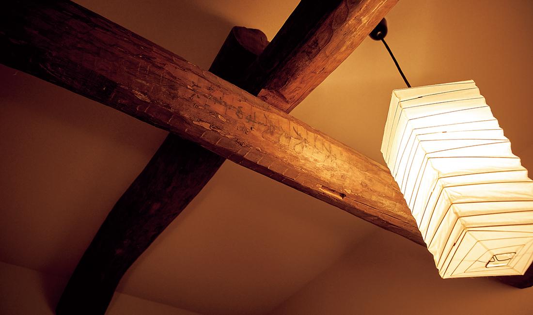 2階座敷の天井