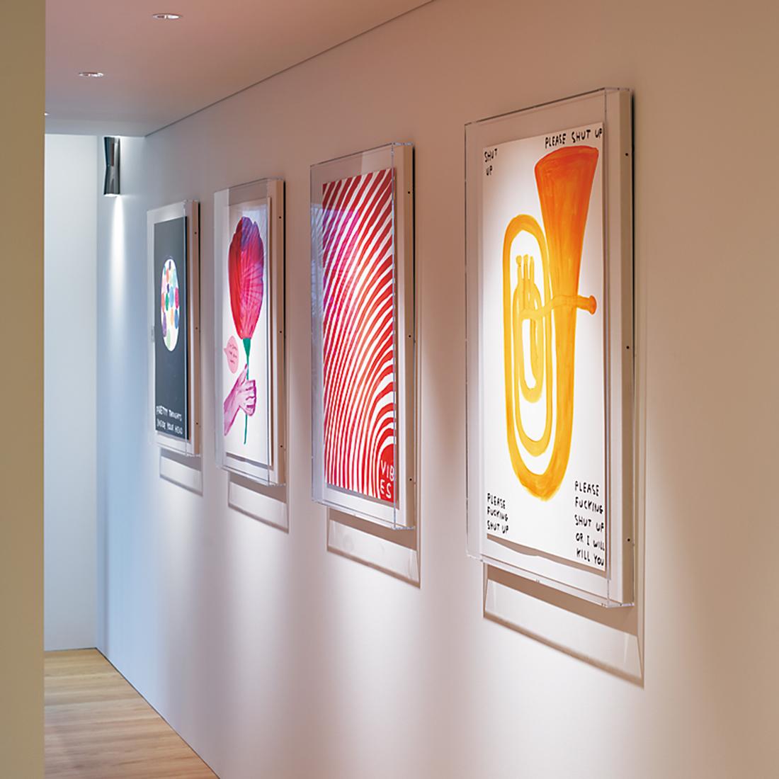 デイヴィッド・シュリグリーの作品の数々。