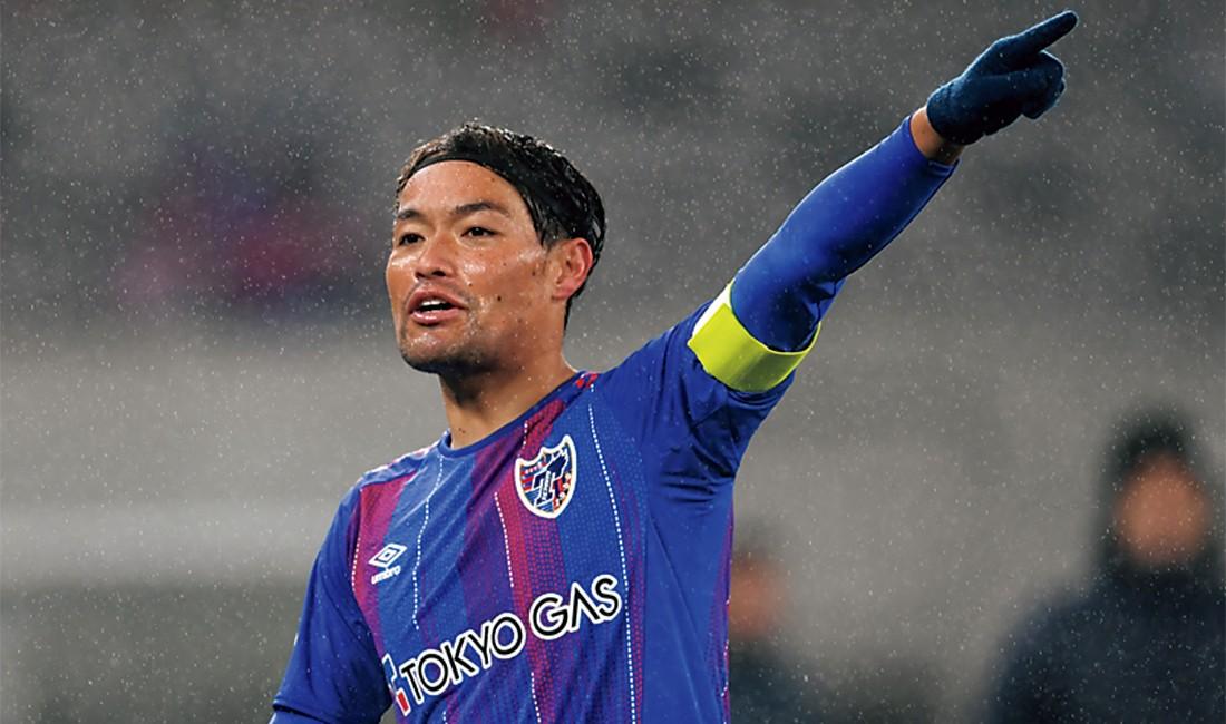 昨シーズンからキャプテンを務めている東慶悟選手。