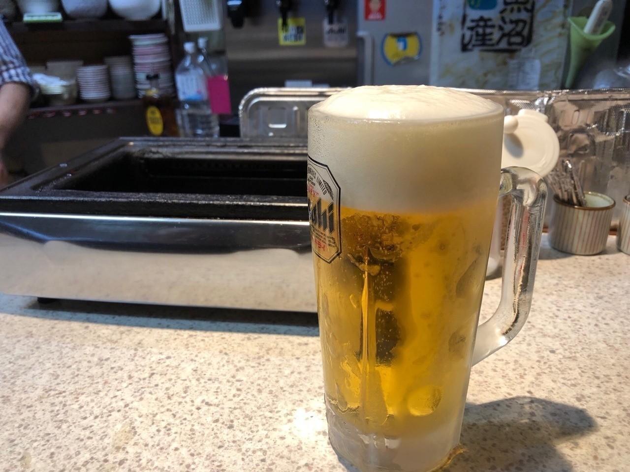 最高の生ビール