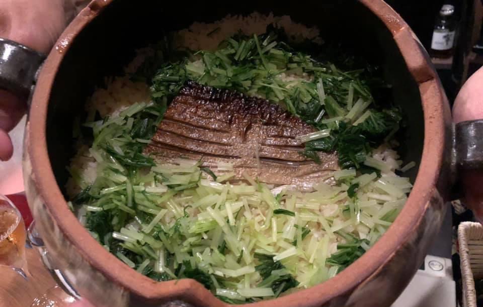 鰤香り焼き 土鍋ご飯