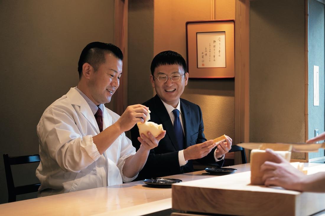 髙橋仁志氏(右)、黒木純氏(左)