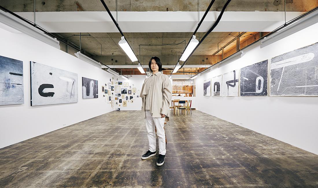 日本橋馬喰町のギャラリー「BAF STUDIO TOKYO」にて
