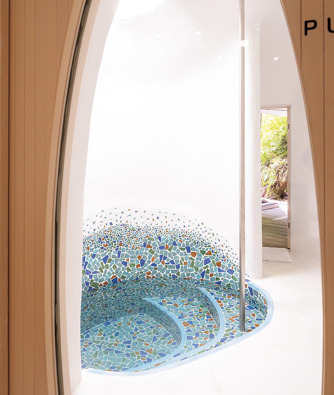 女湯の水風呂