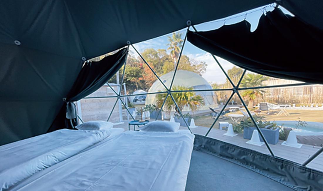 宿泊ドーム