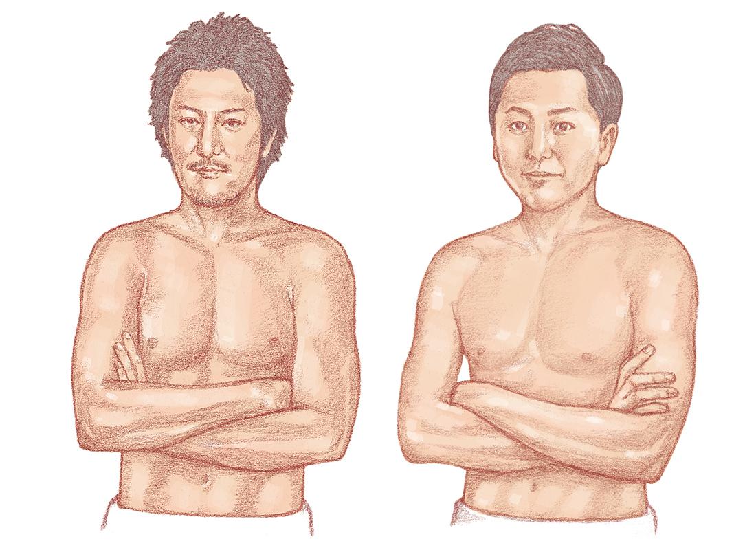 猪子寿之氏と岡本昂之氏