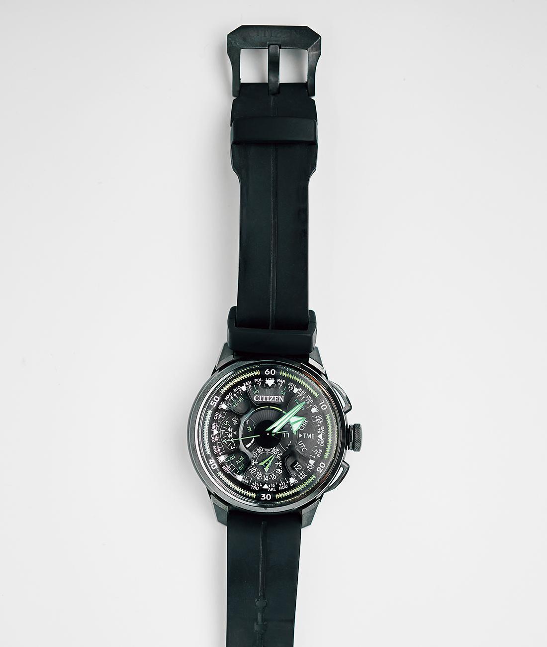 海外出張の際に愛用するシチズンの時計
