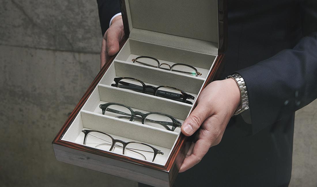 倉﨑雄介のアイヴァンの眼鏡