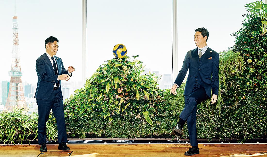 村中悠介氏(右)、立石敬之氏(左)