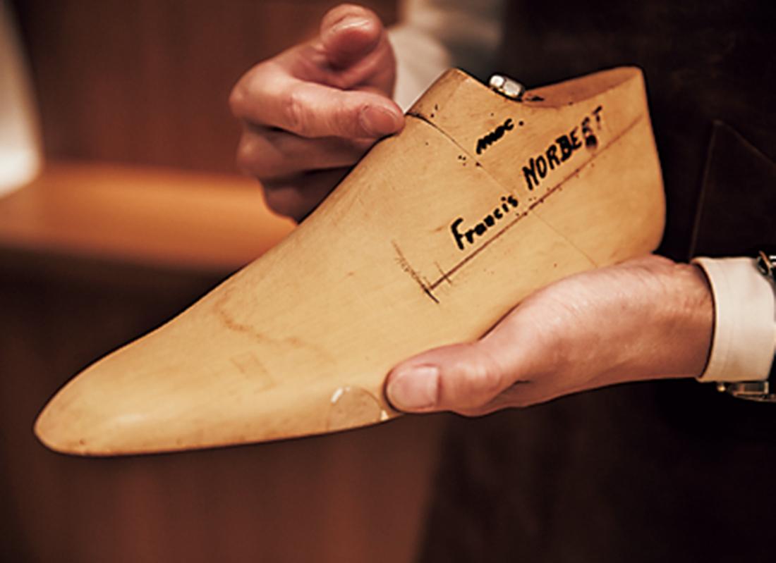 靴の命である木型