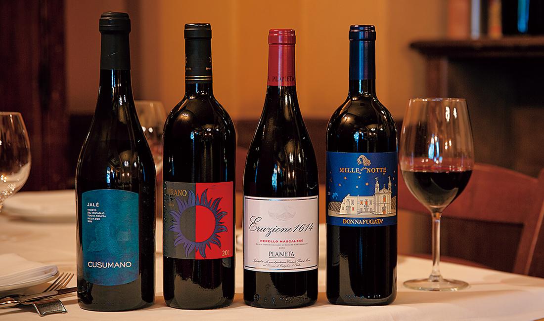 シチリアの土着品種を使ったワイン