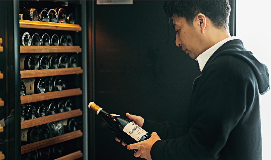 今日飲むワインの選択に悩むのも、日々の楽しみ