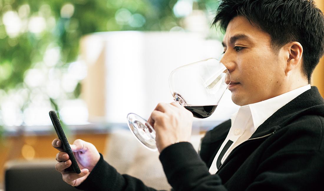 会食で気になったワインは必ずメモし